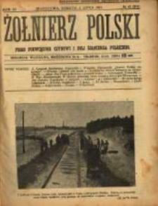 Żołnierz Polski : pismo poświęcone czynowi i doli żołnierza polskiego. R.3 1921 nr42