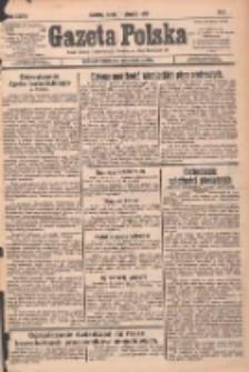 Gazeta Polska: codzienne pismo polsko-katolickie dla wszystkich stanów 1933.01.11 R.37 Nr8