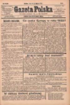 Gazeta Polska: codzienne pismo polsko-katolickie dla wszystkich stanów 1933.01.26 R.37 Nr21