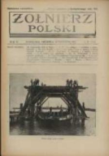 Żołnierz Polski : pismo poświęcone czynowi i doli żołnierza polskiego. R.4 1922 nr39