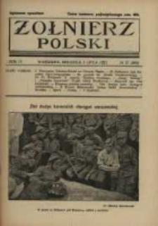 Żołnierz Polski : pismo poświęcone czynowi i doli żołnierza polskiego. R.4 1922 nr27