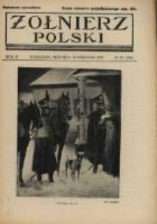 Żołnierz Polski : pismo poświęcone czynowi i doli żołnierza polskiego. R.4 1922 nr37