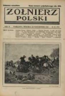 Żołnierz Polski : pismo poświęcone czynowi i doli żołnierza polskiego. R.4 1922 nr43