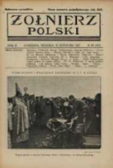 Żołnierz Polski : pismo poświęcone czynowi i doli żołnierza polskiego. R.4 1922 nr46