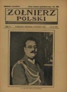 Żołnierz Polski : pismo poświęcone czynowi i doli żołnierza polskiego. R.4 1922 nr50