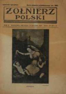Żołnierz Polski : pismo poświęcone czynowi i doli żołnierza polskiego. R.4 1922 nr52-53
