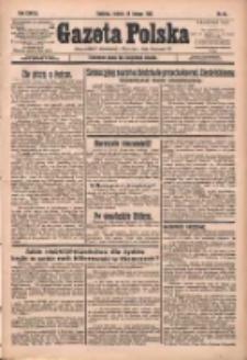 Gazeta Polska: codzienne pismo polsko-katolickie dla wszystkich stanów 1933.02.18 R.37 Nr40