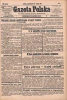 Gazeta Polska: codzienne pismo polsko-katolickie dla wszystkich stanów 1933.02.20 R.37 Nr41