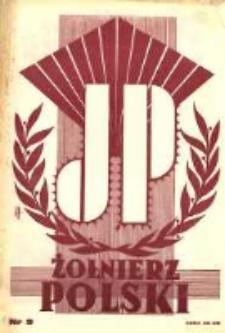 Żołnierz Polski : pismo poświęcone czynowi i doli żołnierza polskiego. R.15 1933 nr9