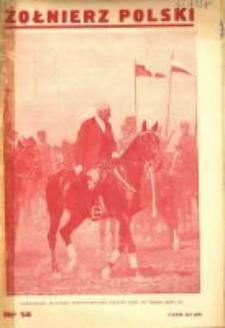 Żołnierz Polski : pismo poświęcone czynowi i doli żołnierza polskiego. R.15 1933 nr14