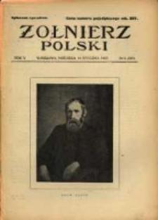 Żołnierz Polski : pismo poświęcone czynowi i doli żołnierza polskiego. R.5 1923 nr2