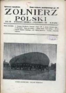 Żołnierz Polski : pismo poświęcone czynowi i doli żołnierza polskiego. R.7 1925 nr40