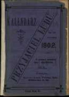 Kalendarz Przyjaciel Ludu na rok 1902 który ma dni 365.
