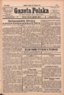 Gazeta Polska: codzienne pismo polsko-katolickie dla wszystkich stanów 1933.04.20 R.37 Nr91