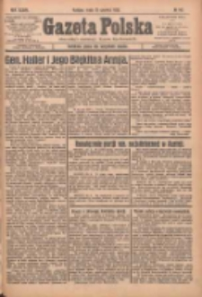 Gazeta Polska: codzienne pismo polsko-katolickie dla wszystkich stanów 1933.06.21 R.37 Nr142