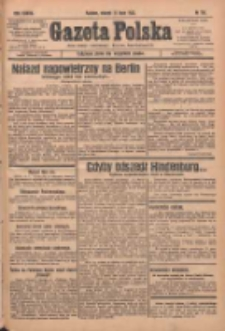 Gazeta Polska: codzienne pismo polsko-katolickie dla wszystkich stanów 1933.07.11 R.37 Nr158