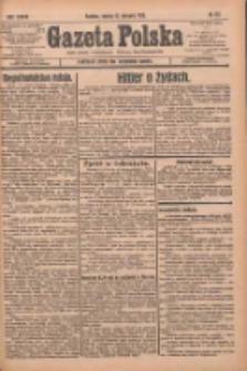 Gazeta Polska: codzienne pismo polsko-katolickie dla wszystkich stanów 1933.08.12 R.37 Nr187