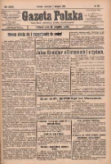 Gazeta Polska: codzienne pismo polsko-katolickie dla wszystkich stanów 1933.08.17 R.37 Nr190