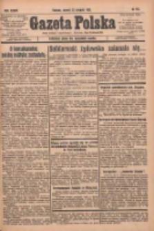 Gazeta Polska: codzienne pismo polsko-katolickie dla wszystkich stanów 1933.08.22 R.37 Nr194