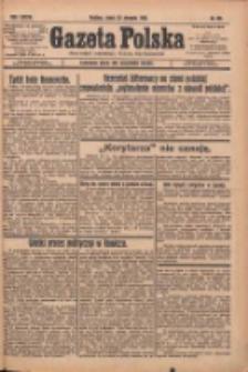 Gazeta Polska: codzienne pismo polsko-katolickie dla wszystkich stanów 1933.08.30 R.37 Nr201