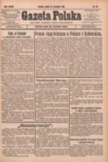 Gazeta Polska: codzienne pismo polsko-katolickie dla wszystkich stanów 1933.09.22 R.37 Nr221