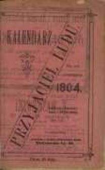 Kalendarz Przyjaciel Ludu na rok przestępny 1904.