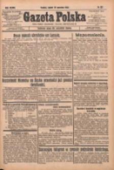 Gazeta Polska: codzienne pismo polsko-katolickie dla wszystkich stanów 1933.09.29 R.37 Nr227