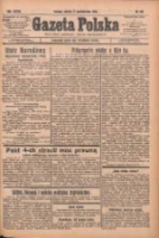 Gazeta Polska: codzienne pismo polsko-katolickie dla wszystkich stanów 1933.10.21 R.37 Nr246