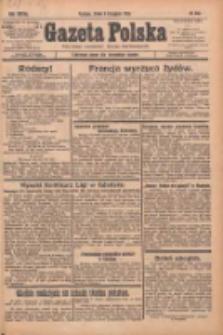 Gazeta Polska: codzienne pismo polsko-katolickie dla wszystkich stanów 1933.11.08 R.37 Nr260