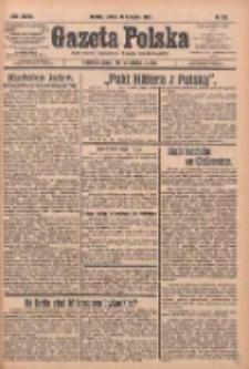 Gazeta Polska: codzienne pismo polsko-katolickie dla wszystkich stanów 1933.11.18 R.37 Nr269