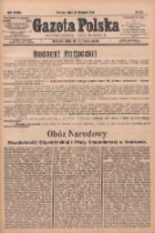 Gazeta Polska: codzienne pismo polsko-katolickie dla wszystkich stanów 1933.11.22 R.37 Nr272