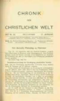 Chronik der christlichen Welt. 1907.10.17 Jg.17 Nr.42