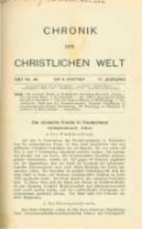 Chronik der christlichen Welt. 1907.11.14 Jg.17 Nr.46
