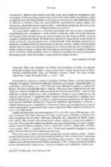 Historische Pläne und Grund risse von Städten und Ortschaften in Polen : ein deutschpolnischer Katalog. Dawne plany i rzuty poziome miast i innych miejscowości w Polsce. Katalog niemiecko-polski, hrsg. Antonius Jammers, bearb. Egon Klemp, Wiesbaden 2000