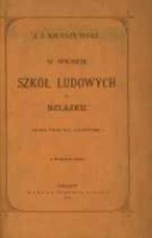 W sprawie szkół ludowych na Szlązku: (kilka uwag dla nauczycieli): z życiorysem autora