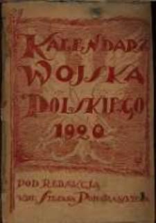 Kalendarz Wojska Polskiego na rok 1920.