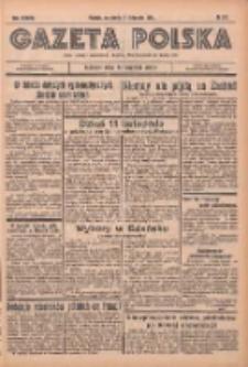 Gazeta Polska: codzienne pismo polsko-katolickie dla wszystkich stanów 1934.11.21 R.38 Nr271