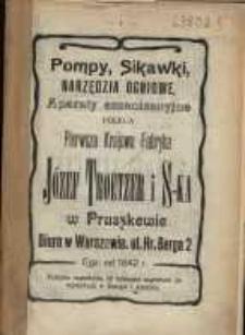 Kalendarz Centralnego Wydziału Kółek Rolniczych na Rok Pański 1912.