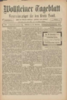 """Wollsteiner Tageblatt: Generalanzeiger für den Kreis Bomst: mit der Gratis-Beilage: """"Blätter und Blüten"""" 1909.11.24 Nr275"""