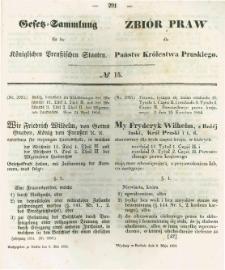 Gesetz-Sammlung für die Königlichen Preussischen Staaten. 1854.05.08 No15