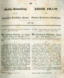 Gesetz-Sammlung für die Königlichen Preussischen Staaten. 1854.06.28 No25