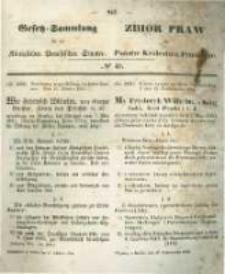 Gesetz-Sammlung für die Königlichen Preussischen Staaten. 1854.10.17 No40