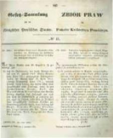 Gesetz-Sammlung für die Königlichen Preussischen Staaten. 1854.11.03 No41