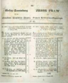 Gesetz-Sammlung für die Königlichen Preussischen Staaten. 1854.11.18 No43