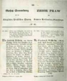 Gesetz-Sammlung für die Königlichen Preussischen Staaten. 1854.12.04 No46