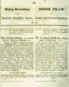 Gesetz-Sammlung für die Königlichen Preussischen Staaten. 1854.12.08 No47