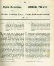Gesetz-Sammlung für die Königlichen Preussischen Staaten. 1859.04.30 No12