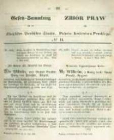 Gesetz-Sammlung für die Königlichen Preussischen Staaten. 1859.05.19 No14