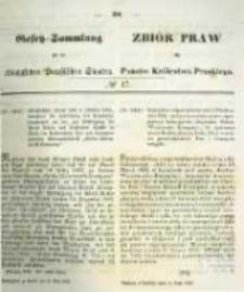 Gesetz-Sammlung für die Königlichen Preussischen Staaten. 1859.05.24 No17
