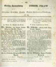 Gesetz-Sammlung für die Königlichen Preussischen Staaten. 1859.08.31 No32